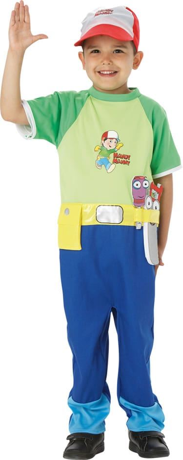 Handy Manny Childrens Fancy Dress Costume