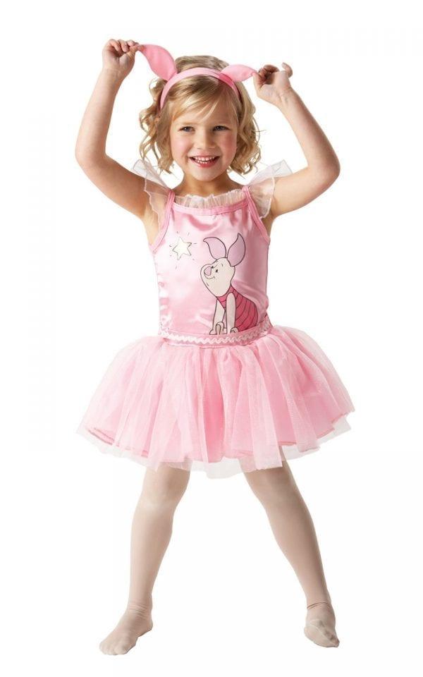 Disney's Winnie the Pooh Piglet Ballerina Childrens Fancy Dress