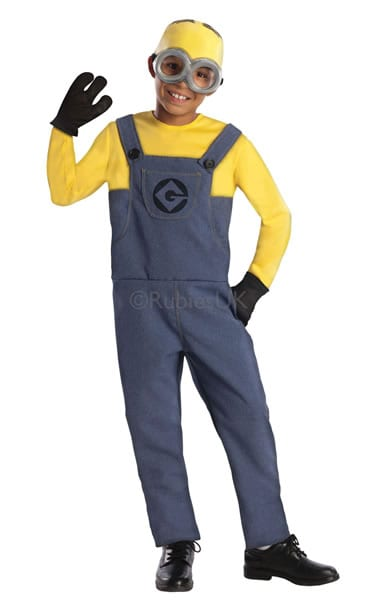 Despicable Me Minion Dave Children's Fancy Dress Costume