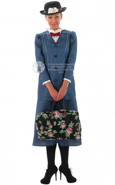 Disney's Mary Poppins Ladies Fancy Dress Costume