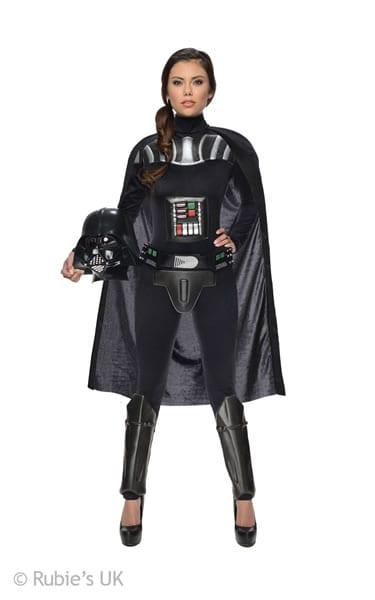 Star Wars Darth Vader Ladies Fancy Dress Costume