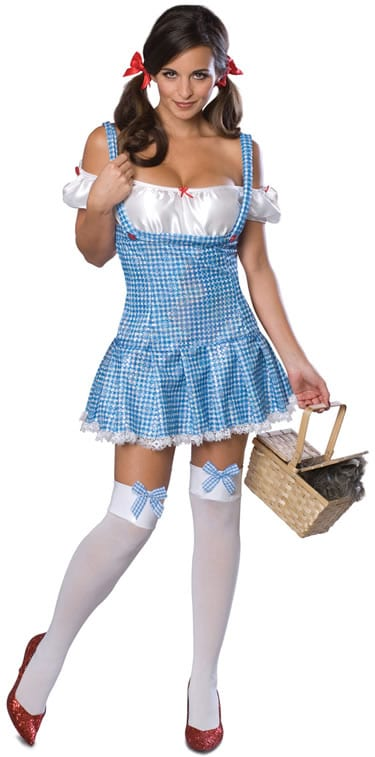 Secret Wishes Wizard of Oz Dorothy Ladies Fancy Dress Costume