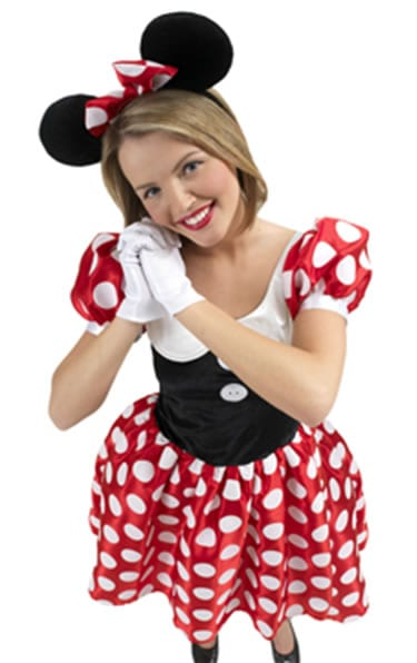 Disney's Minnie Mouse Ladies Fancy Dress Costume
