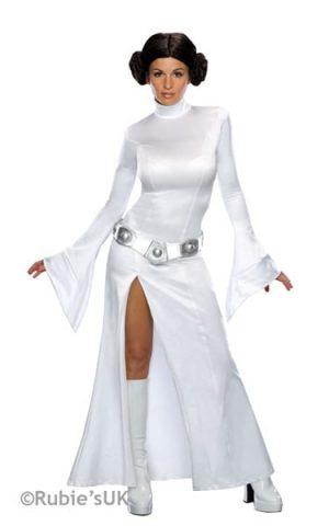 Secret Wishes Princess Leia Ladies Fancy Dress Costume