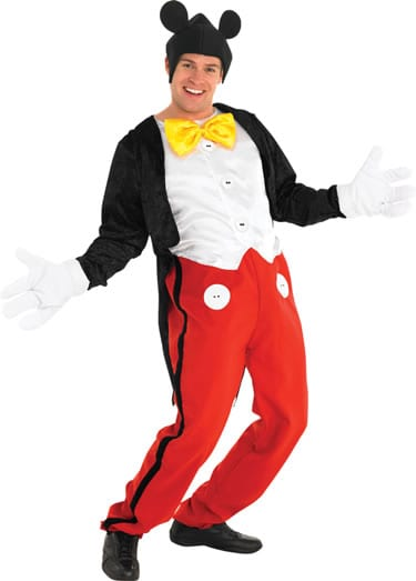 Disney's Mickey Mouse Mens Fancy Dress Costume