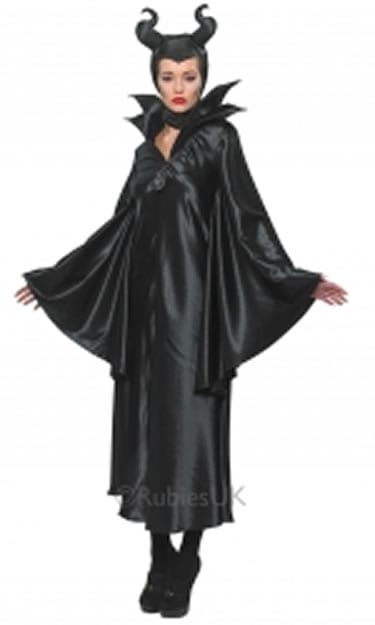 Disney's Movie Maleficent Ladies Fancy Dress Costume