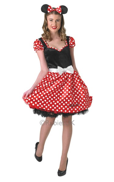 Disney's Minnie Mouse Ladies Fancy Dress Costume (NEW)