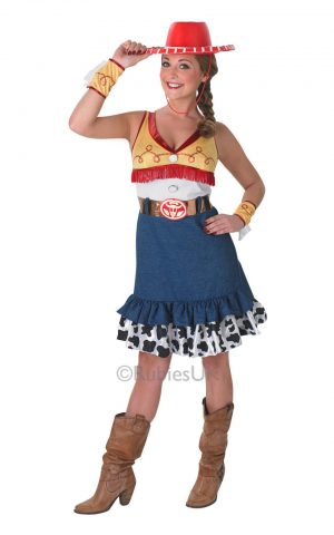 Disney's Toy Story Sassie Jessie Ladies Fancy Dress Costume