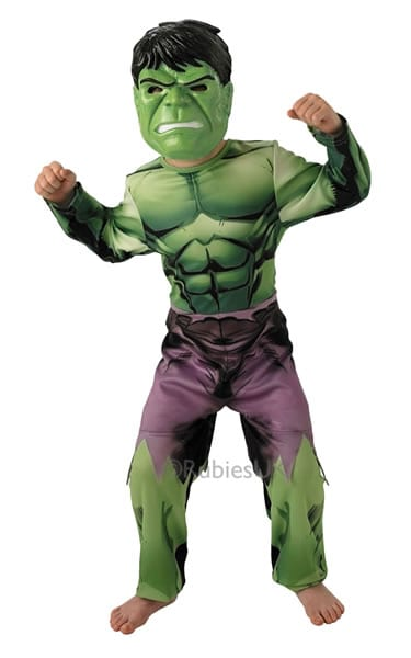 Marvel Avengers Hulk Children's Fancy Dress Costume