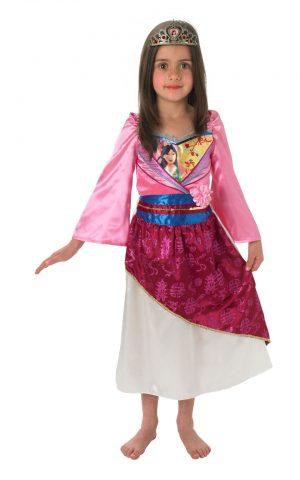Disney's Princess Mulan Shimmer Childrens Fancy Dress Costume