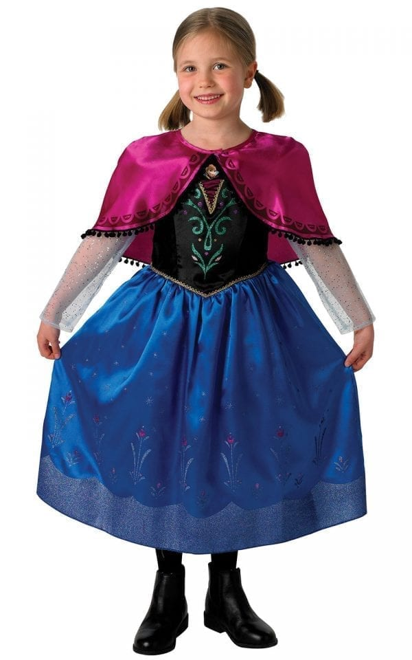 Disney's Frozen Anna Deluxe Children's Fancy Dress Costume