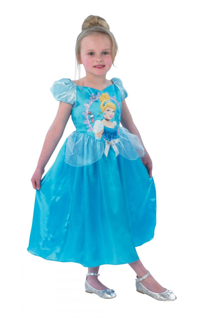 Disney's Storytime Cinderella Classic Children'S Fancy Dress Costume