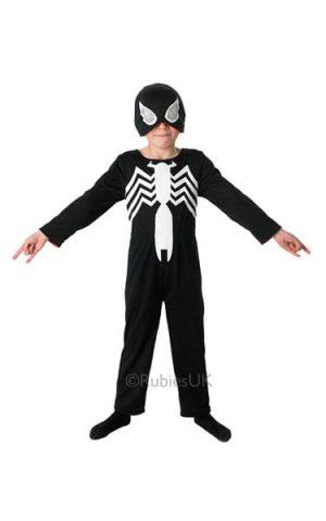 The Ultimate Spiderman 2 in 1 Reversible Children's Fancy Dress Costume-0