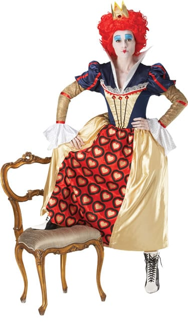 Disney's Alice in Wonderland Red Queen Ladies Fancy Dress