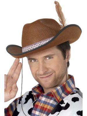 Brown Cowboy/Dallas Hat