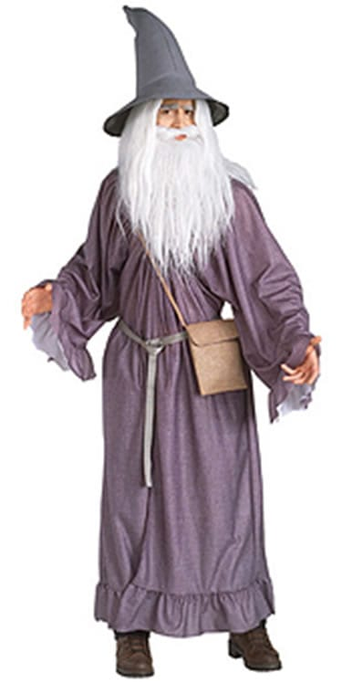 Lord of the Rings Gandalf Men's Fancy Dress Costume