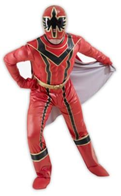 Power Ranger Mystic Force Super Hero Mens Fancy Dress Costume