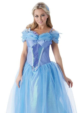 Disney's Cinderella Ladies Fancy Dress Costume (NEW)