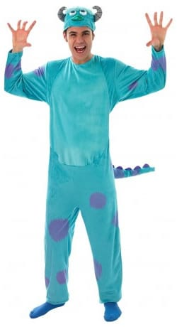 Disney's Monsters University Sulley Men's Fancy Dress Costume