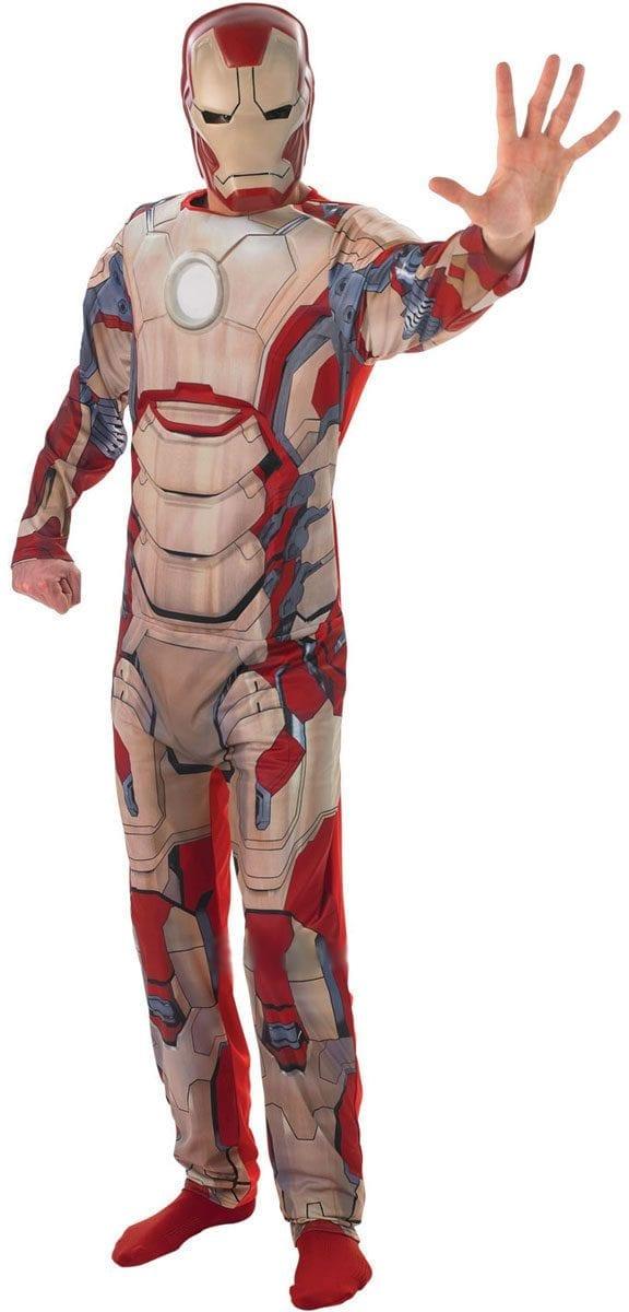 Marvel Iron Man 3 Men's Super Hero Fancy Dress Costume