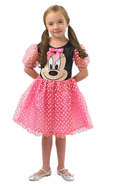 Disney's Pink Puffball Minnie Childrens Fancy Dress Costume