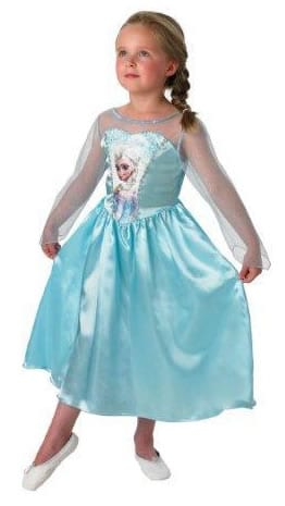 Disney's Frozen Elsa Classic Childrens' Fancy Dress Costume