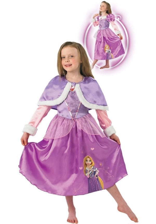 Disney's Winter Wonderland Rapunzel Children's Fancy Dress Costume