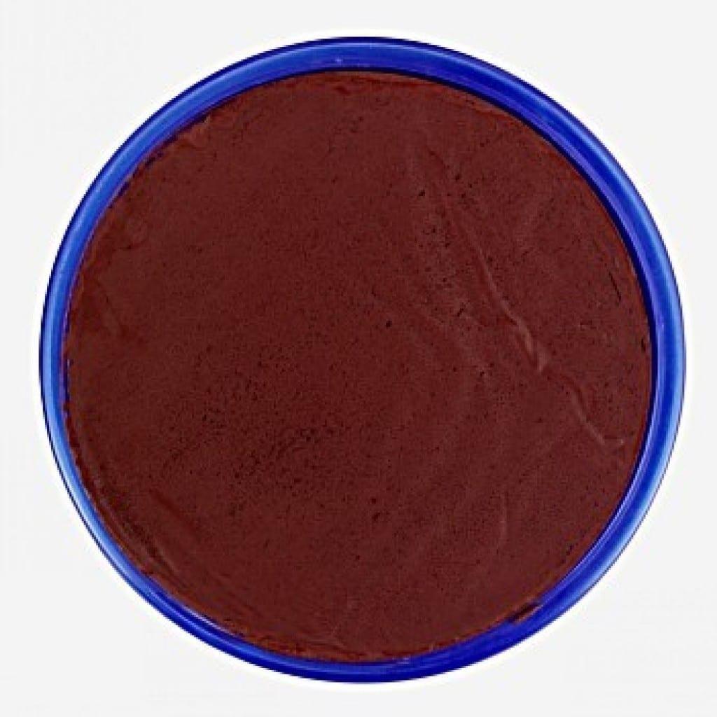Snazaroo Water Based Facepaint Dark Brown 18ml