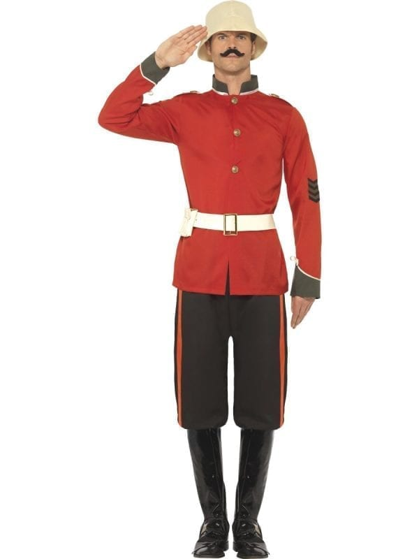 Boer War Soldier Men's Fancy Dress Costume