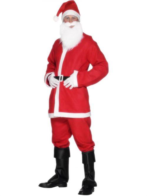 Santa Male Budget Christmas Fancy Dress Costume