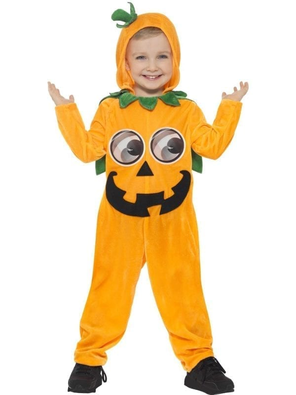 Pumpkin Toddler Children's Halloween Fancy Dress Costume