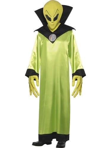 Alien Lord Mens Halloween Fancy Dress Costume