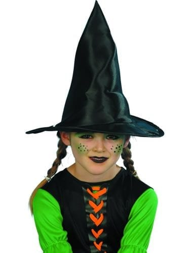 Children's Witch Hat Black Fabric