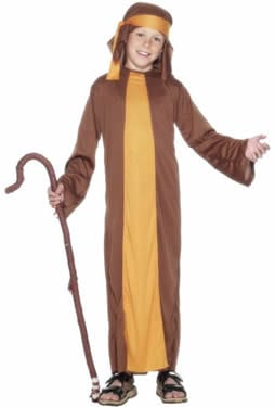 Shepherd Childrens Christmas Fancy Dress Costume
