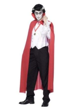 Red Fabric Cape