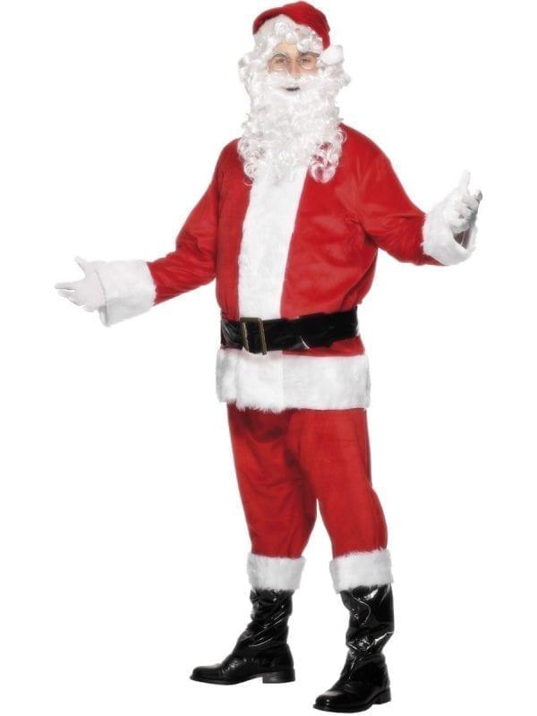 Santa Quality Male Christmas Fancy Dress Costume