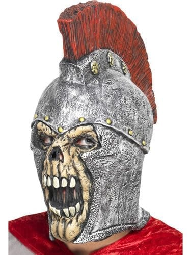 Roman Soldier Latex Skeleton Mask