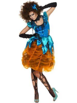 Killerella Ladies Halloween Fancy Dress Costume