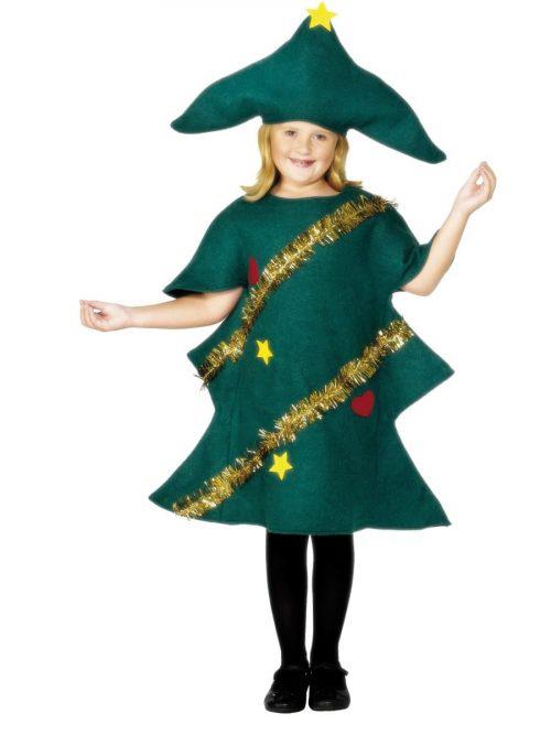 Christmas Tree Childrens Fancy Dress Costume