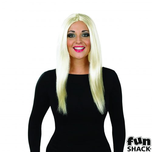 Blonde Wig Long with Centre parting