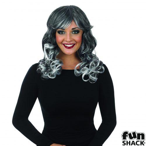 Grey Temptress Wig