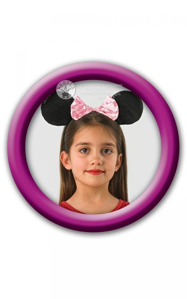 Disney's Minnie Mouse Pink Deluxe Ears.