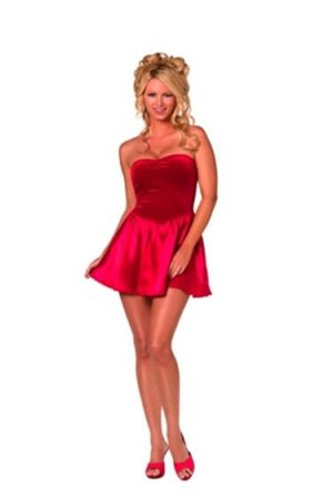 Fever Collection Bijou Red Mini Dress