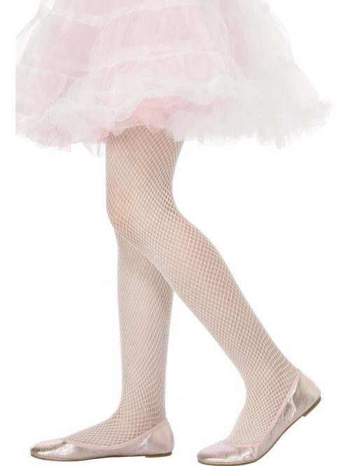 White Fishnet Tights 2-5 Years