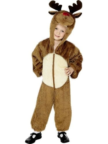 Reindeer 7-9 Years Childrens Christmas Fancy Dress Costume