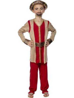 King Melchior Childrens Christmas Fancy Dress Costume (DISC)