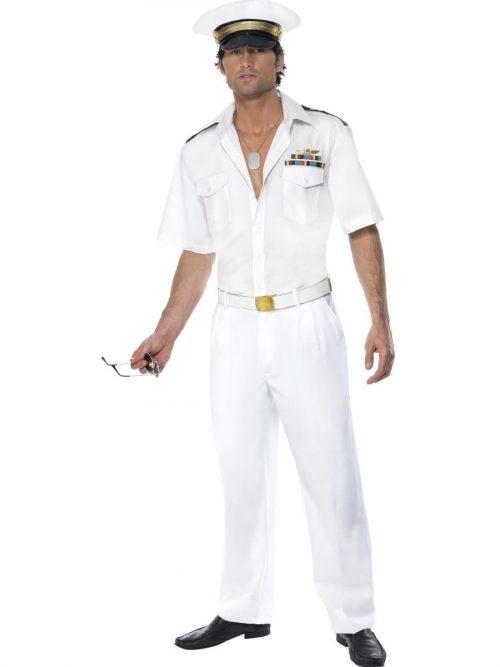 Top Gun Captain Men's Fancy Dress Costume