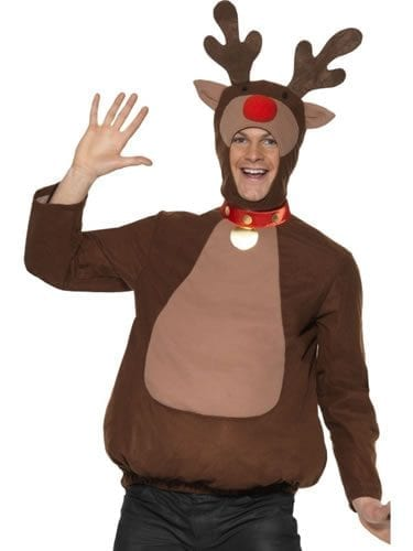 Reindeer Top Men's Fancy Dress Costume