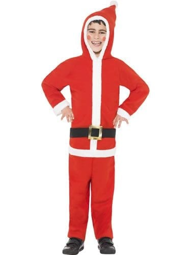 Santa Boy (ONESIE) Children's Christmas Fancy Dress Costume