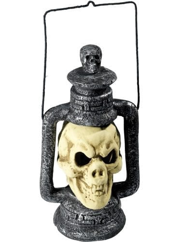 Skull Lantern with LED Light